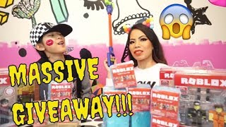 ROBLOX GIVEAWAY!!! ITEM CODES, PRISON LIFE, WORK AT A PIZZA PLACE, ROBLOX HIGH SCHOOL, LEGENDS OF RO