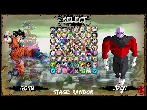 Dragon Ball Super: Climax (Mugen) Goku Gameplay & Transformations [1080p 60fps]