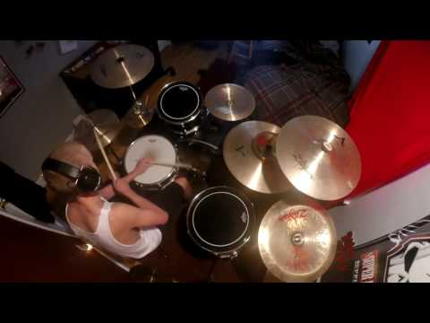 blink-182 & Steve Aoki- Bored to Death (Steve Aoki Remix) (Drum Cover by Griffin Ell)