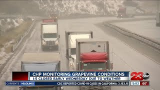 CHP monitoring Grapevine conditions as weather causes closures
