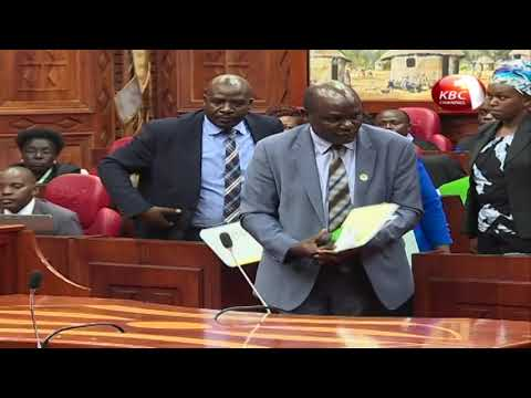 Parliament's committee on election laws send away IEBC chairman