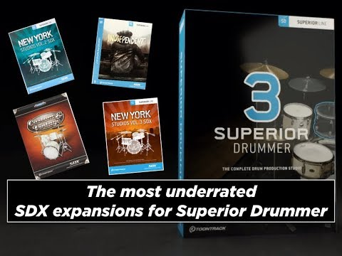 The most underrated SDX expansions for Superior Drummer