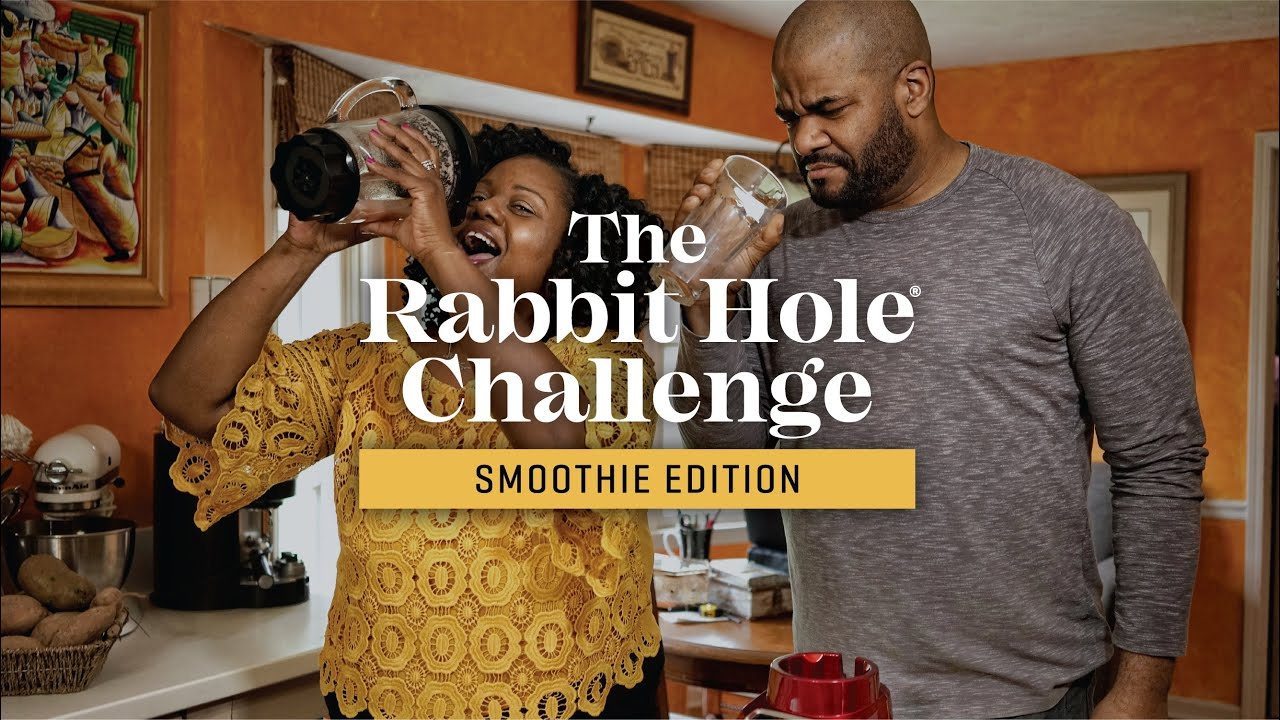 The Rabbit Hole Challenge: Smoothie Edition
