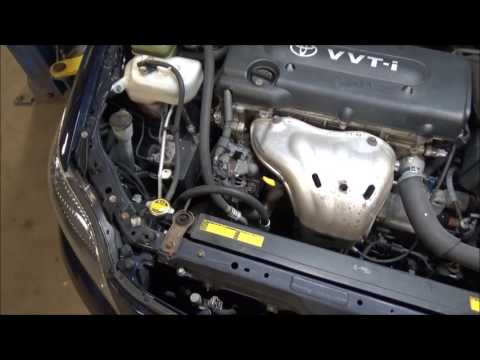 2007 Scion TC,  Battery Light, Alternator Testing