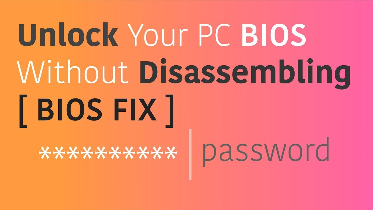 acer bios password generator