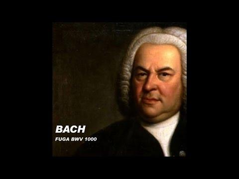 Bach - Fuga BWV 1000