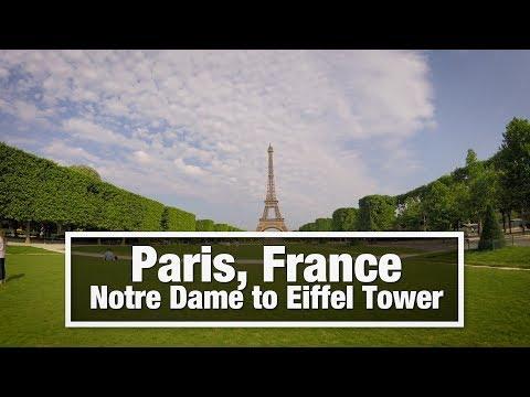 City Walks: Paris, France - Notre Dame to Eiffel Tower