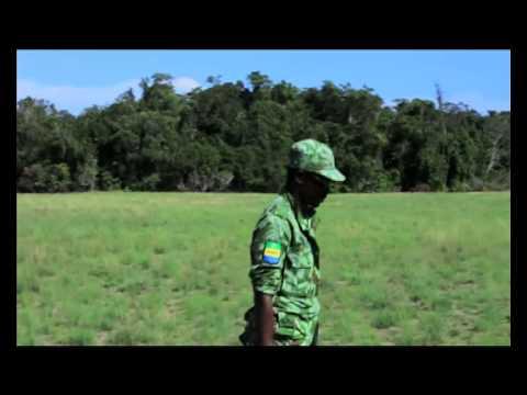 Un jour, un métier au Gabon :  Eco-garde dans un parc national