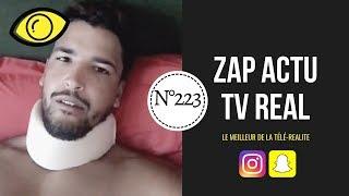 [ ZAP ACTU TV REAL ] N°223 du 02/09/2019 - Selim raconte son accident