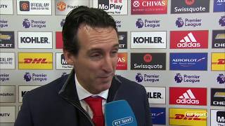 """""""This can happen."""" Unai Emery"""