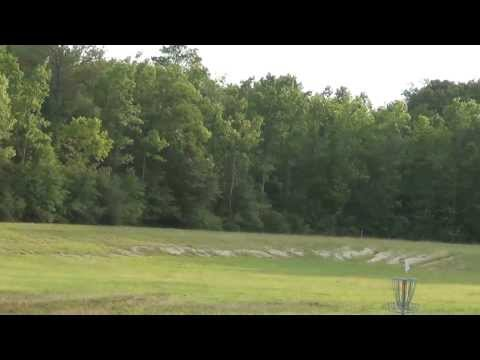 Nate Throws 570 ft. at the New Texas Army Trail Disc Golf Course
