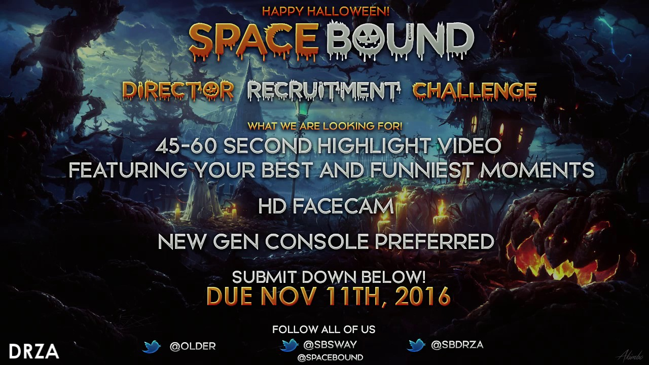 SpaceBound Director Recruitment Challenge
