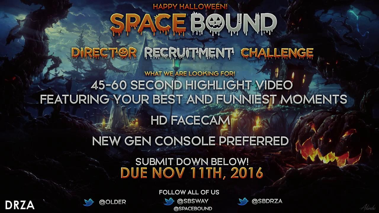 SpaceBound Director Recruitment Challenge