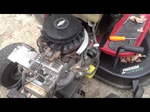 Fixing the starting problem on the Briggs and Stratton 21hp engine