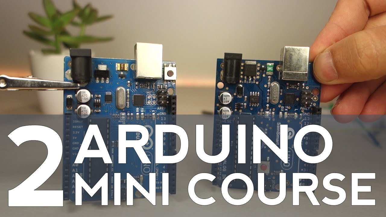Getting started with arduino mini course part