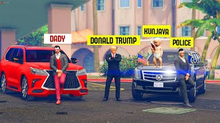 GTA 5 RP : Baby Meets Donald Trump!! Malayalam Techies