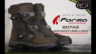 Botas Forma Adventure Low - MOTOS DF