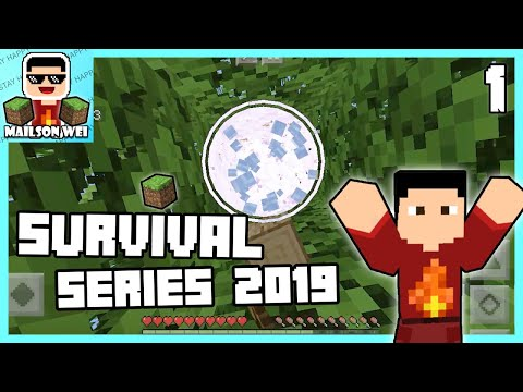 Start A New Journey Survival World Minecraft Survival Lets Play Series 1