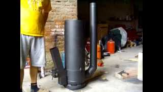 Rocket Stove (finished) - GERMAN / Raketenofen (endlich fertig)