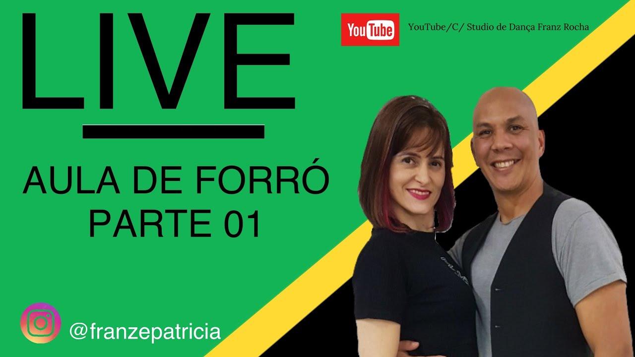 LIVE EM CASA -AULA DE FORRÓ PARTE 01