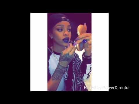 Rihanna's Snapchat PART 2 2015