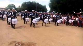 Banda de Guerra del Cecyt 09 él Parral Chiapas