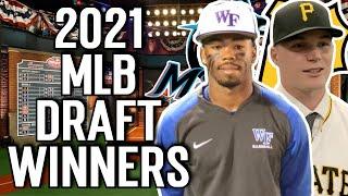 2021 MLB Draft Winners