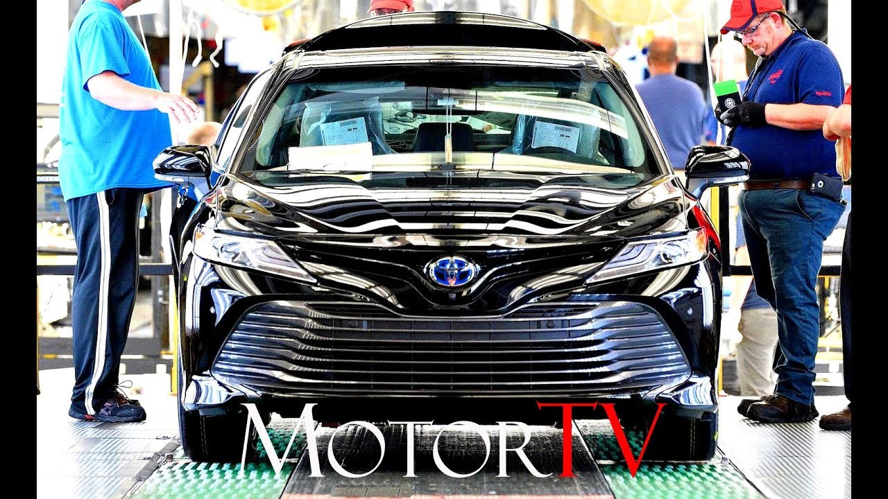 Car Factory New Toyota Production Engineering And Manufacturing