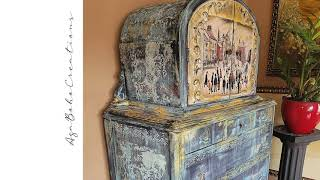 LS Lowry Cabinet