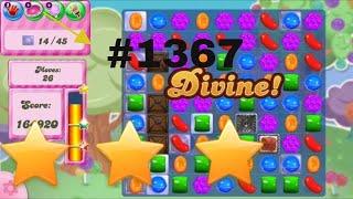 complete candy crush saga level 1367