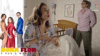 Doña Flor y sus 2 maridos - Capítulo 44: ¡Teo anhela tener un hijo con Flor! | Televisa