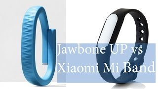 Xiaomi Mi Band vs Jawbone UP - разбор полетов