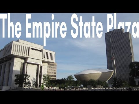The Empire State Plaza