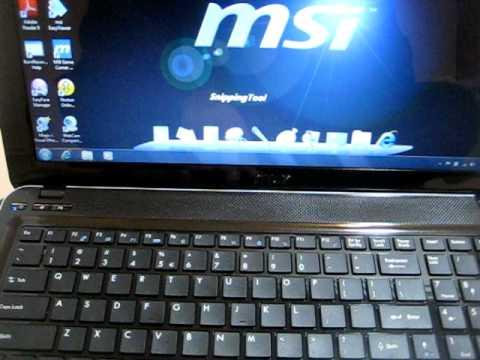msi s6000 i5 450m 2 66 ghz gaming laptop 4 gigs ddr3 memory 500 gig rh youtube com MSI S6000 Memory Upgrade MSI S6000 Battery