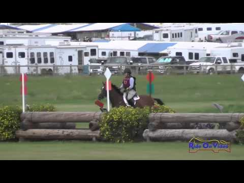 077XC Allison Sparks on Mystic Mojo CIC3* Cross Country The Event at Rebecca Farm July 2015