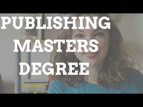Doing a Masters Degree in Publishing