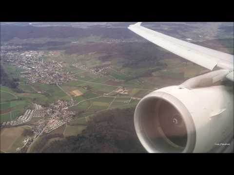 Swiss Air Airbus A321-111 | Zurich to London Heathrow *Full Flight* + Touch & Go!