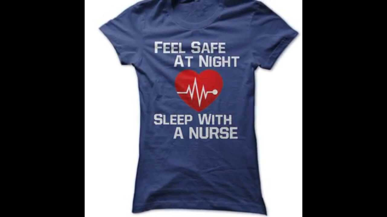Top 5 Best Designs Sleep With A Nurse Tee T Shirts
