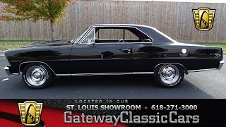 #7101 1967 Chevrolet Nova - Gateway Classic Cars of St. Louis