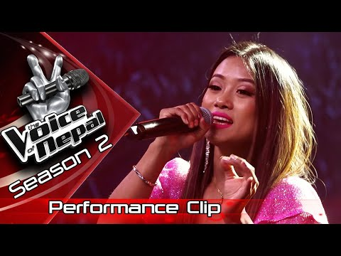 "Mechu Dhimal ""Guras Fulda"" - LIVE -The Voice of Nepal Season 2 - 2019"