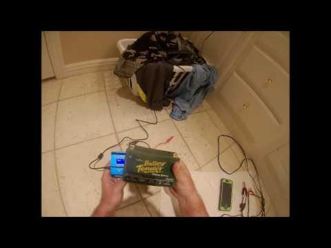 ImaxB6mini charging LiFePo4 battery