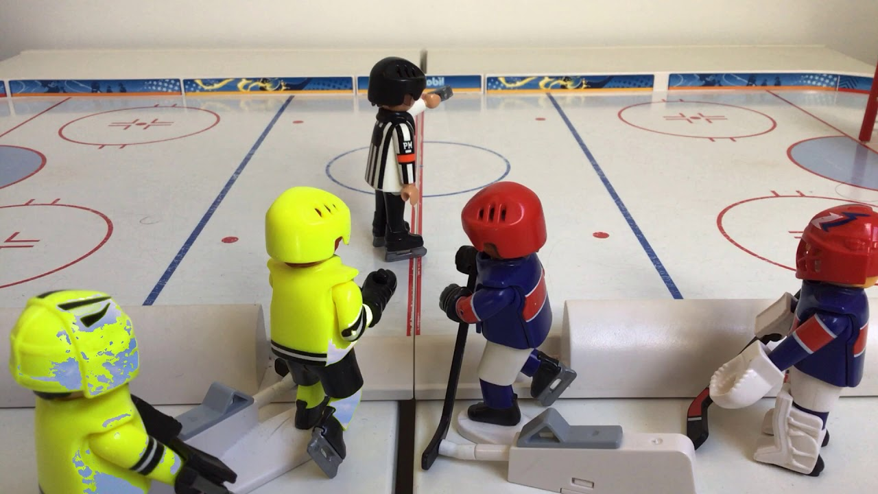Ice Hockey on Playmobil