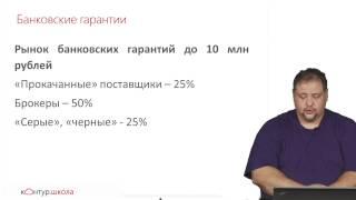 Банковские гарантии по 44-ФЗ. Рынок, выдача гарантий, законодательство.