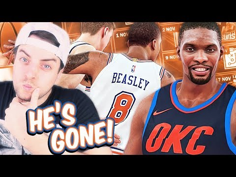 OKC Signed BOSH! Eliminated Worst Contract in NBA History! - NBA 2K18 Knicks MyGM #1