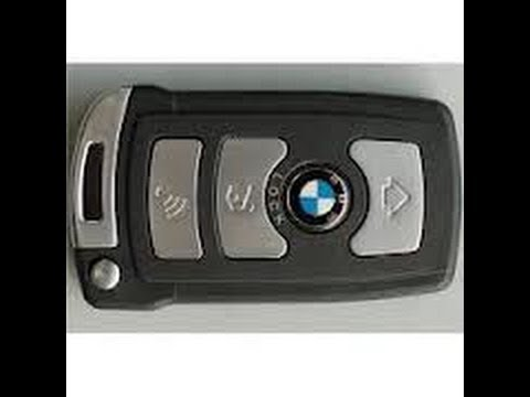 How To Replace And Charge A Battery In Key Fob For BMW 7 Series E65 E66