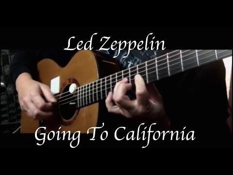 Led Zeppelin - Going To California - Fingerstyle Guitar