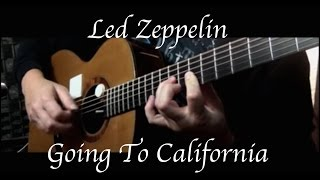 Led Zeppelin - Going To California - Fingerstyle Guitar
