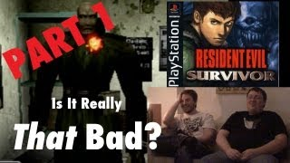 Resident Evil Survivor (PS1) | Is It Really That Bad? Pt 1