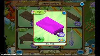 Animal Jam Tiny Shelf And Large Corner Shelf