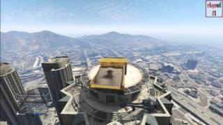 GTA 5 Online Funny Bits #6 | Dump Truck Skyfall!! (Short Version)